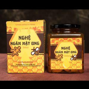 nghệ ngâm mật ong natural queen
