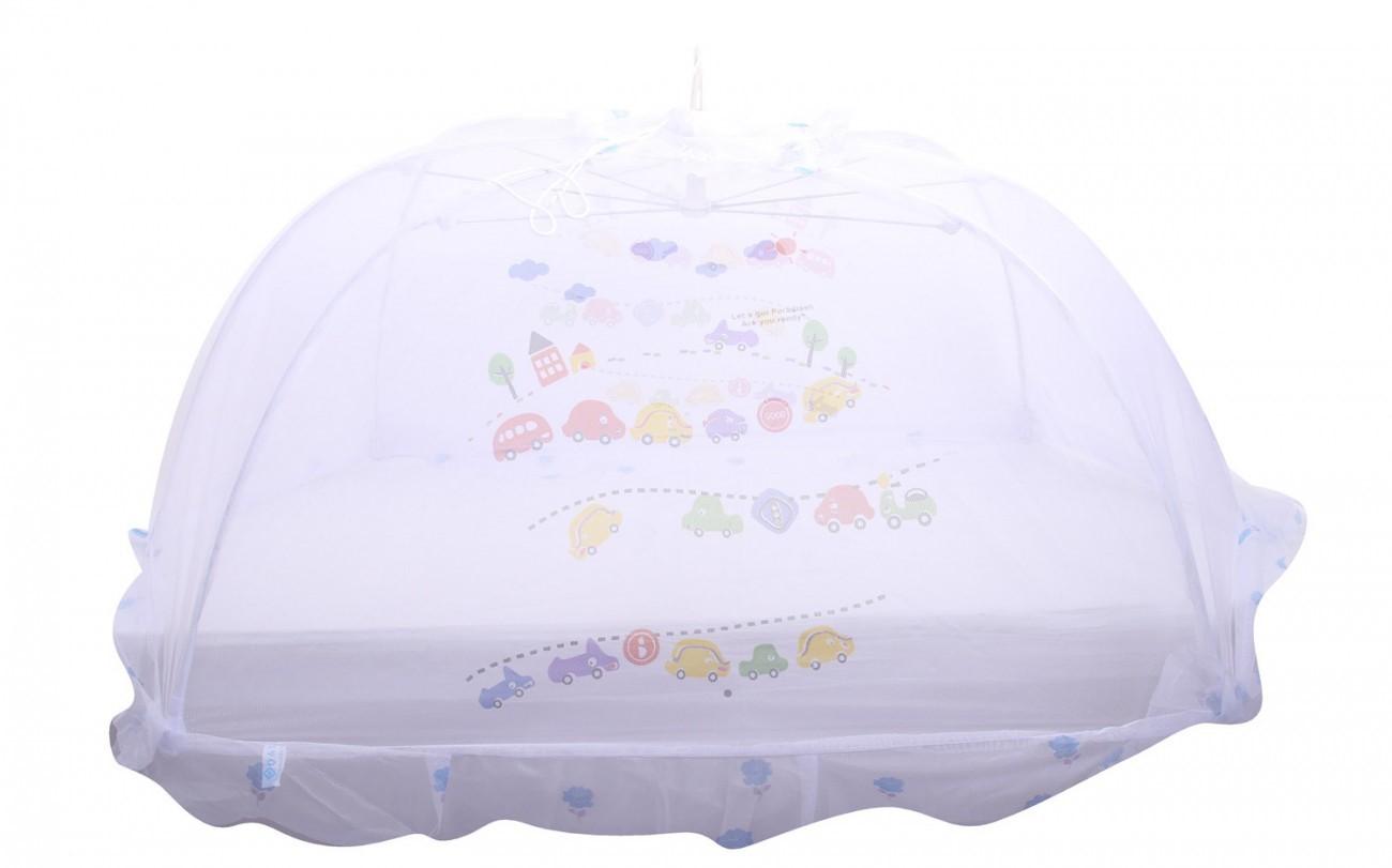 Màn chụp bảo vệ bé khỏi nguy cơ muỗi đốt và tránh gió