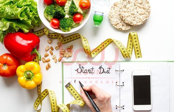 Kết hợp thuốc giảm cân cùng chế độ dinh dưỡng